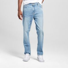 Men's Athletic Fit Jeans - Mossimo Supply Co. Light Wash