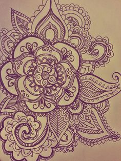 """My Mandala drawing for henna tattoo"" Guys. Circles and symmetry are hard. Rhoda…"