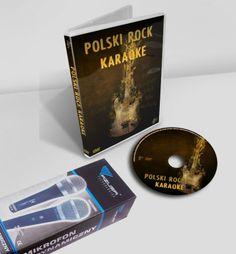 Karaoke Polski Rock   markowy mikrofon Azusa