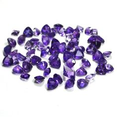 Faceted Mixed Cut loose Amethyst Gemstones Lot for Sale