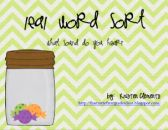 Short and Long E Word Sort {ea sound spellings} product from First-Grade-Fun on TeachersNotebook.com