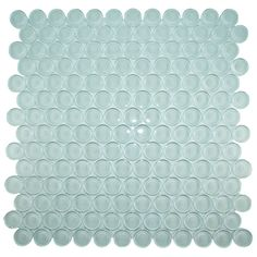 This mosaic tile is ideal for kitchens, bathrooms & shower walls. Border Tiles, Glass Mosaic Tiles, Shower Walls, Clear Glass, Circles, Bathrooms, Kitchens, Backsplash, Image