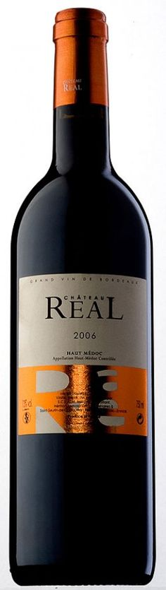 Chateau Real 2006 Just Wine, Wine And Liquor, Haut Medoc, Bordeaux Wine, French Wine, Beverages, Drinks, Wine Labels, Whisky