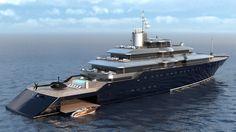 Solidwave Exterior Portfolio | Super Yacht & Architecture Design and Visualisation Services