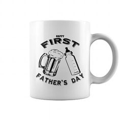 Awesome Beer Lovers Tee Shirts Gift for you or your family member and your friend:  Dads First Fathers Day Beer and Bottle Mug Tee Shirts T-Shirts