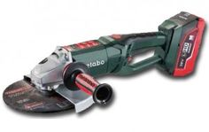 Metabo 36V 9 inch grinder coming 2016 thanks to Metabo's new LiHD batteries. This world first will provide the same power as a 2400W corded grinder!