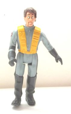 Vintage 1987 Peter Venkman Real Ghostbusters Figure - RARE by BunkysVintageCrafts on Etsy