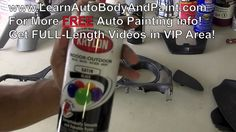 How To Paint Your Car Interior -- Car Interior Painting Tips! Blog: http://www.learnautobodyandpaint.com/blog/how-to-paint-your-car-interior-car-interior-pai...