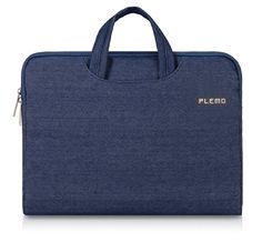 Laptop Case, PLEMO Denim Fabric 13-13.3 Inch Laptop / Notebook Computer / MacBook / MacBook Pro /…