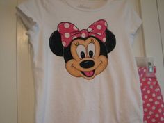 Custom Disney clothing Minnie Mickey WITH 6 EXLARGE by Babykid35. $89.99, via Etsy.