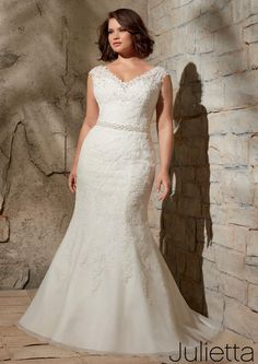 Julietta Bridal by Mori Lee 3172 Julietta Plus Size Bridal by Morilee Amanda-Lina