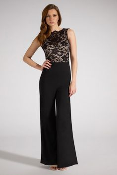Elegant Black Jumpsuit with Cowl Back $39.71
