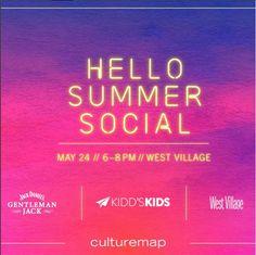 CultureMap Dallas Presents Hello Summer Social