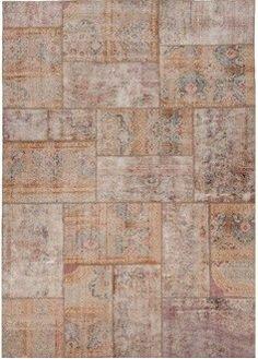 > Naturel Recoloured Pathwork carpet by Marc Janssen
