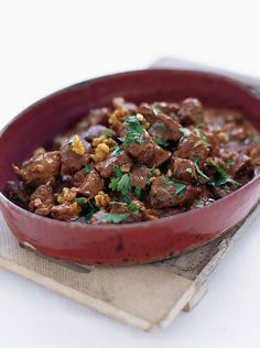 spiced lamb stew with walnuts & pomegranate | Jamie Oliver | Food | Jamie Oliver (UK)