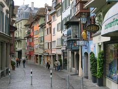 The densest part of your city - Old Town Zurich is mostly offices and expensive apartments