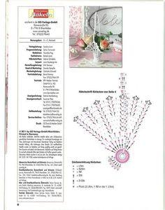 DIY Handmade: Szydełkowe koszyczki - 37 wzorów i schematów Crochet Vase, Diy Crochet Basket, Thread Crochet, Love Crochet, Crochet Flowers, Crochet Chart, Filet Crochet, Crochet Patterns, Victorian Christmas Ornaments