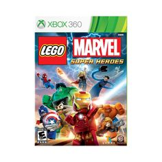 LEGO Marvel Super Heroes (Nintendo Wii U, for sale online Marvel Super Heroes Game, Super Hero Games, Marvel Villains, Marvel Characters, Marvel Movies, Nintendo Ds, Wii U, Hulk, Iron Man Flying