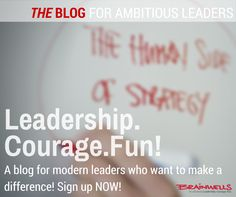 Sign-up and get leadership mojo once a week.