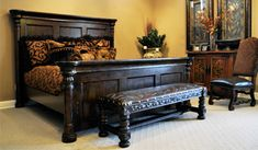 Old World Bedroom Furniture Crown Collection