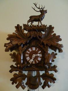 A  Black Forest Clock.