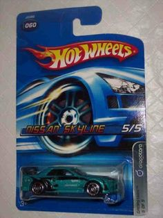 Dropstars #5 Nissan Skyline Metalflake Teal Open Hole 5-Spokes #2006-60 Collectible Collector Car Mattel Hot Wheels 1:64 Scale by Mattel. $14.99. Fun For All Ages! Serious Collectors And Kids Alike!. Perfect Hot Wheels Diecast for every collector!. A Perfect Addition To Any Hot Wheels Collection!. Great Investment For Any Hot Wheels Collector.. Diecast Metal Hot Wheels Car Perfect For That Hot Wheels Collector!. Dropstars #5 Nissan Skyline Metalflake Teal Open ...