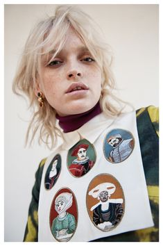 VIOLA ROLANDO photography - Stella Jean Lookbook prefall Stella Jean, Mullet Hairstyle, Hairstyle Short, Mullets, Grunge Hair, Hair Today, Fine Hair, Hair Goals, Hair Inspiration