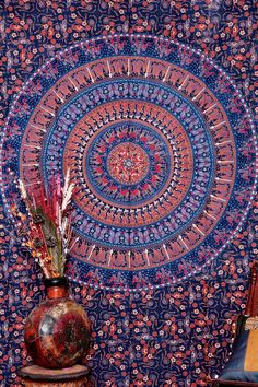 Twin Camle Mandala Tapestry , Indian Hippie Wall Hanging , Bohemian Wall Hanging, Bedspread Beach Coverlet Throw Decor Wall Art * Find out more about the great product at the image link. (This is an affiliate link) #Tapestries