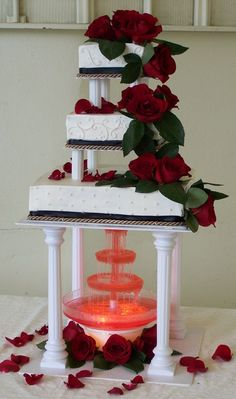 [ Colors Black Red White Wedding Cakes Wedding Cake Designs ] - three colors black red and white wedding cakes wedding red wedding theme august amp white wedding cakes stylish eve red wedding ideas wedding theme decorations,red amp white wedding c White And Gold Wedding Cake, Red And White Weddings, Square Wedding Cakes, Floral Wedding Cakes, White Wedding Cakes, Wedding Cake Designs, Rose Wedding, Dream Wedding, Wedding Ideas