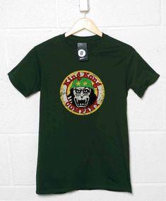 King Kong Taxi Company T Shirt - Forest Green / Medium