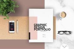 Graphic Design Portfolio Template - Brochures - 1