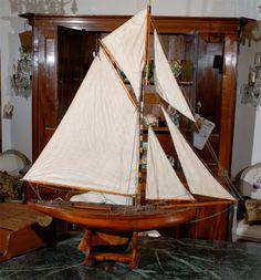 19th Century English Pond Yacht