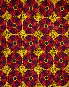 Tissu imprimé africain par lyard record pagne par Shopafrican