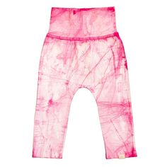 Organic Cotton Baby Pants for Girls | Eco-Friendly Pink Baby Clothes
