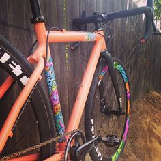 @eekachorek race bike #cyclocross #MUSA art by @pantonson @sramracing @sramroad @psimet @clementcycling #bikes