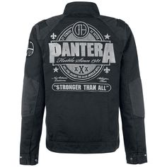 Logo - Jacket by Pantera - Article Number: 290797 - from 157.99 € - EMP Merchandising ::: The Heavy Metal Mailorder ::: Merchandise Shirts and More