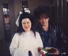 mary poole the cure robert smith...I have a ton of pics from this day...cuz I was there in NY while they were waiting to go on the QE2