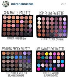I want the 35P Plum Palette