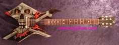 BC Rich Warlock(Randy Piper from W.A.S.P. custom guitar)