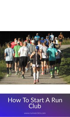 How To Start A Run Club #run #runners