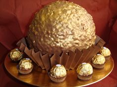 kit kat and ferrero rocher cake - Google Search