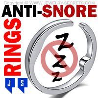 ►► ACUPRESSURE ANTI-SNORE RINGS ►► Jewelry Secrets