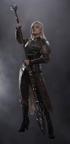 52 Ideas For Fantasy Art Female Warrior Awesome Fantasy Warrior, Fantasy Rpg, Fantasy Artwork, Dark Fantasy, Woman Warrior, Fantasy Character Design, Character Concept, Character Art, Character Ideas