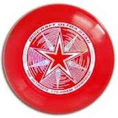 Discraft Ultimate Disc - Ultra Star 175gms. - Frisbee - Deep Red Discraft $14 free shipping