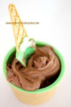 Gelato cremosissimo alla Nutella e...ingrediente segreto, senza gelatiera!