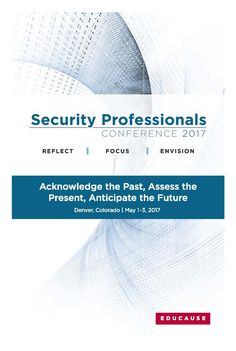 2017 Security Professionals Conference in Denver, Colorado (May Security Conference, Denver Colorado, Assessment, The Past, Business Valuation