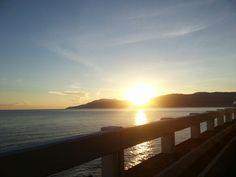 Sunrise in patapat viaduct