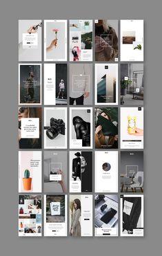 Stylish Social Media Pack - Stylish Social Media Pack on Behance - Magazine Ideas, Magazine Design, Instagram Grid, Instagram Design, Instagram Story Template, Instagram Story Ideas, Web Design, Graphic Design Posters, Graphic Design Inspiration