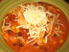 Britt's Apron: Chicken Enchilada Soup