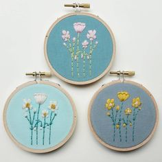 Have a lovely weekend!  Tomorrow I'll be selling my work at the @craft_collect spring market.  Local friends, I hope you'll stop by!  I'll be the introvert hiding behind a huge embroidery display.  #justkidding  #sortof